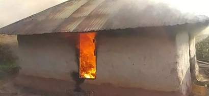 Panic and dread as 95 and 53-year-old witches are burnt alive in Kisii (photos)