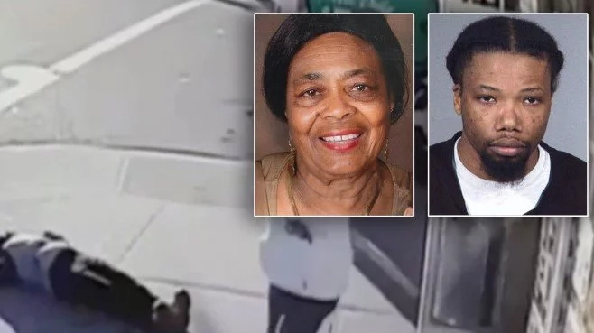 Woman, 69, who was knocked out on her way to church for NO REASON dies (photos, video)