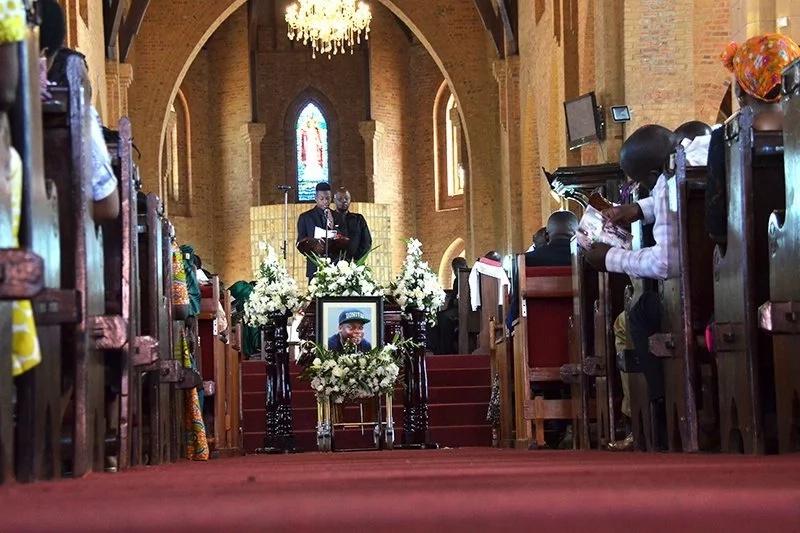 ivan funeral photos