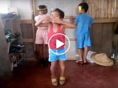 These kids in high heels walked like real queens...the ending was really unexpected!