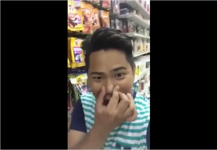 """Pinoy """"talent"""" went viral after netizens cried out laughing from his video"""