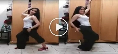 Jusko ko po si Cabinet girl! Meet funny Pinay behind the famous 'Budots' cabinet dance