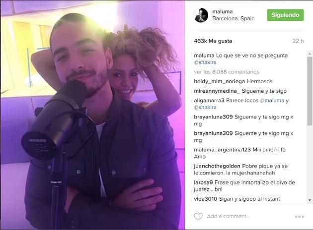 Maluma sembró intriga en las redes sociales con estas fotografías