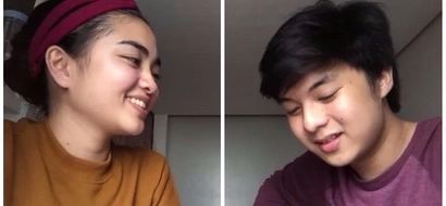 Ito ang goals! Sweet couple shares their lovely song cover of 'Can't Help Falling In Love' in their monthsary