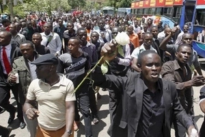 Shock! Kenyans protest over Sportpesa's link to Afya Scandal