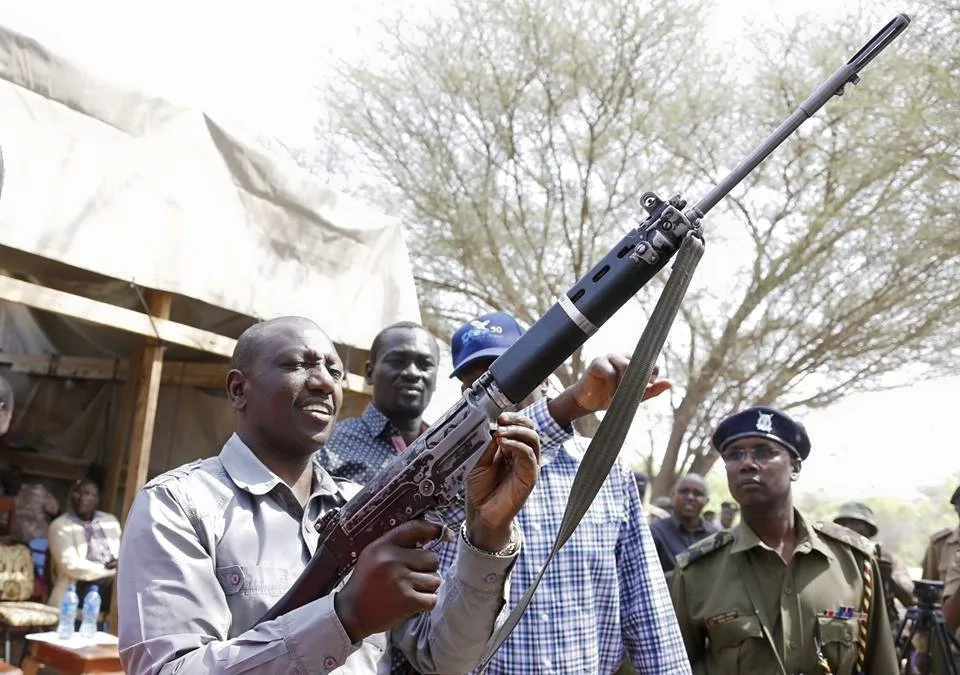 William Ruto's bodyguard shoots himself