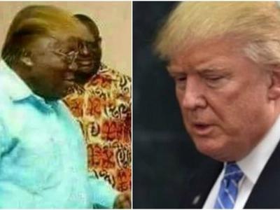 "Truth about US President Donald Trump's ""Kenyan brother"" (photos)"