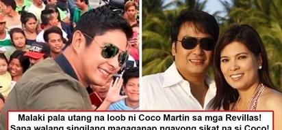 Sana wag gamitin sa pulitika tagumpay niya! Why does Coco Martin have 'huge utang na loob' towards Sen. Bong Revilla's family?
