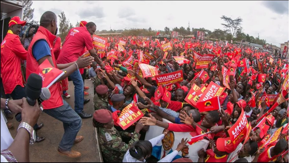 NASA stops Jubilee from using Uhuru Park for rallies before August 8