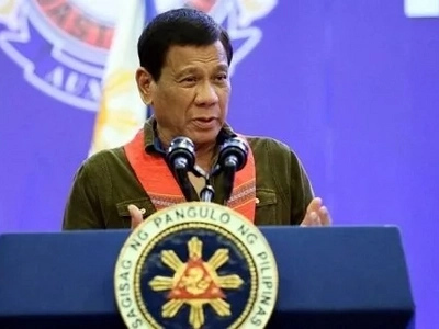 From Russia, Duterte declares Martial Law in Mindanao