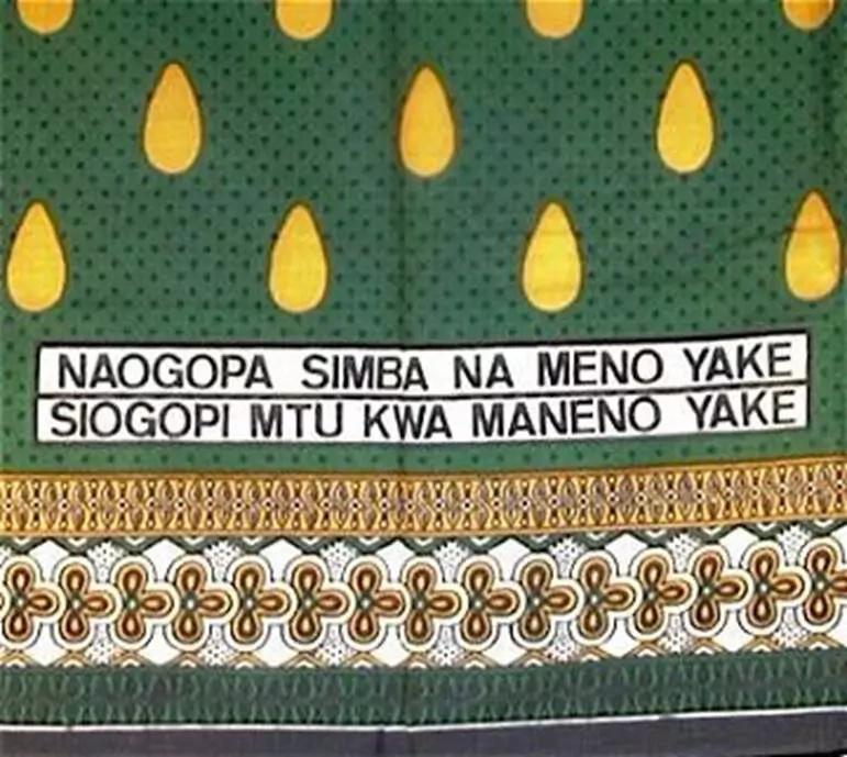 Picha za leo: Misemo ya mikali ya leso za 'uswahilini'
