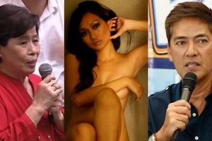 Respeto naman po! Vic Sotto responds to Mercedes Cabral's controversial MMFF comment