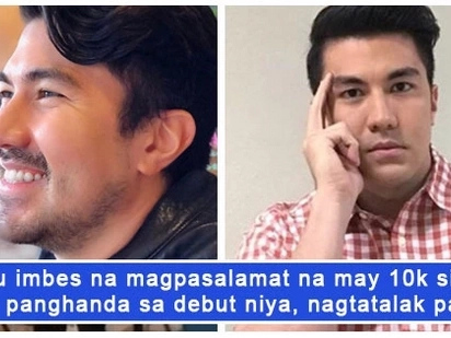 Luis Manzano gets chided by an 'ungrateful' netizen for an amount of money he gave to a father