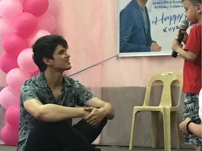 James Reid at 23; fulfills 2 wishes
