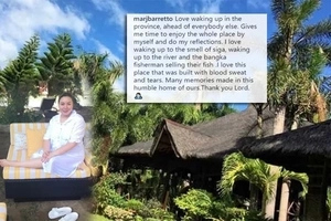 Marjorie Barretto Enjoys Simple Living in Her 'Humble Home' in the province