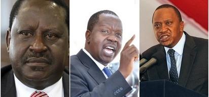Raila adokeza kwamba Uhuru ana njama ya kuiba uchaguzu