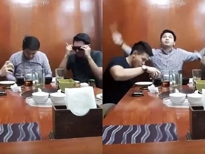 These Pinoys guys claim they have no Boomerang app so they have to do this instead!