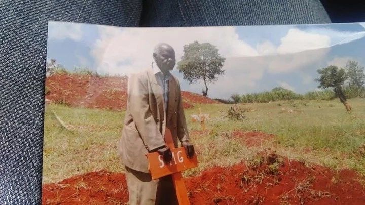 Mwanamume, 93 awashangaza wengi Murang'a kwa kumzika mkewe, 70 pekee yake