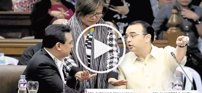 Bakbakan sa Senado: furious Trillanes gets into heated fight with angry Cayetano!