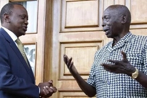 The real reason why Uhuru's mum visited Retired Daniel Arap Moi at his home in Kabarak