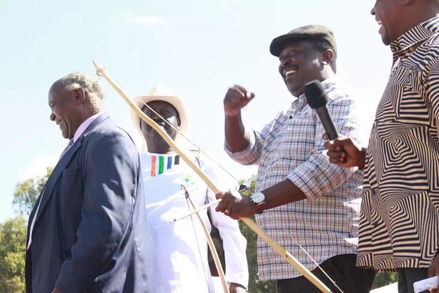 Musalia Mudavadi confesses he never believed in the swearing-in of Raila Odinga
