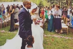 Former Citizen TV actress Sarah Hassan says I DO in a lovely simple wedding (photos)