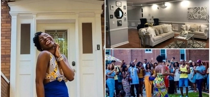 Over the top! This woman's EPIC housewarming party is breaking the internet (photos, video)