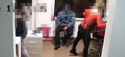 Pervert Masturbating In Hair Salon Gets Beaten Up By Staff