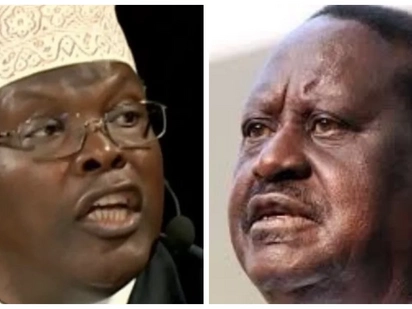 Miguna fumbles to defend an earlier statement when he called Raila a joker