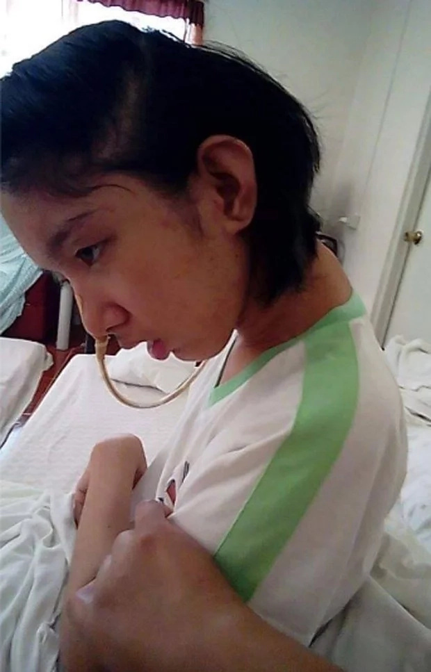 Mom asks help of netizens for her bedridden daughter