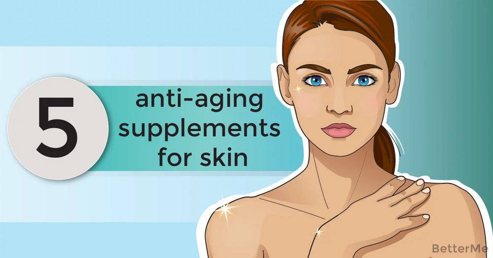 5 anti-aging supplements for younger-looking skin