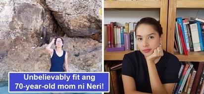 Tunay na kabogera sa kaseksihan! Netizens can't get over Neri Naig's 70-year-old mom's fit figure