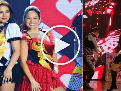 Watch Amanda Page return to showbiz scene with epic dance showdown with Maja Salvador!