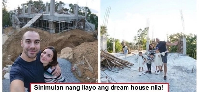 Lalo silang yumayaman! Chesca and Doug Kramer shares photos of construction of their lavish dream house