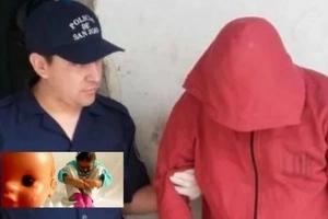 Violó a una niña de 2 años y le contagió una sucia enfermedad