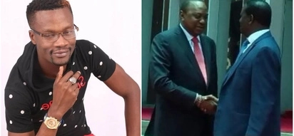 Tibim hit-maker unleashes new song praising Raila and Uhuru for signing peace deal