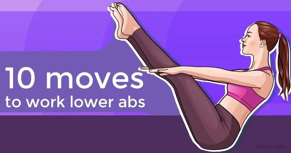 10 moves to work lower abs