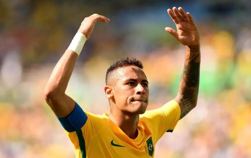 Neymar anotó el gol más rápido en la historia de los Olímpicos