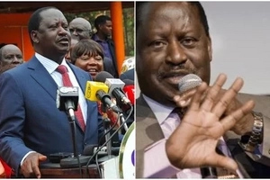 A day after he was discharged from a local hospital, Raila flies to South Africa
