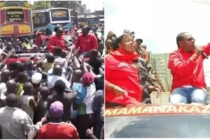 CONTROVERSIAL video of Jubilee gubernatorial aspirant DISHING money to Muthurwa residents