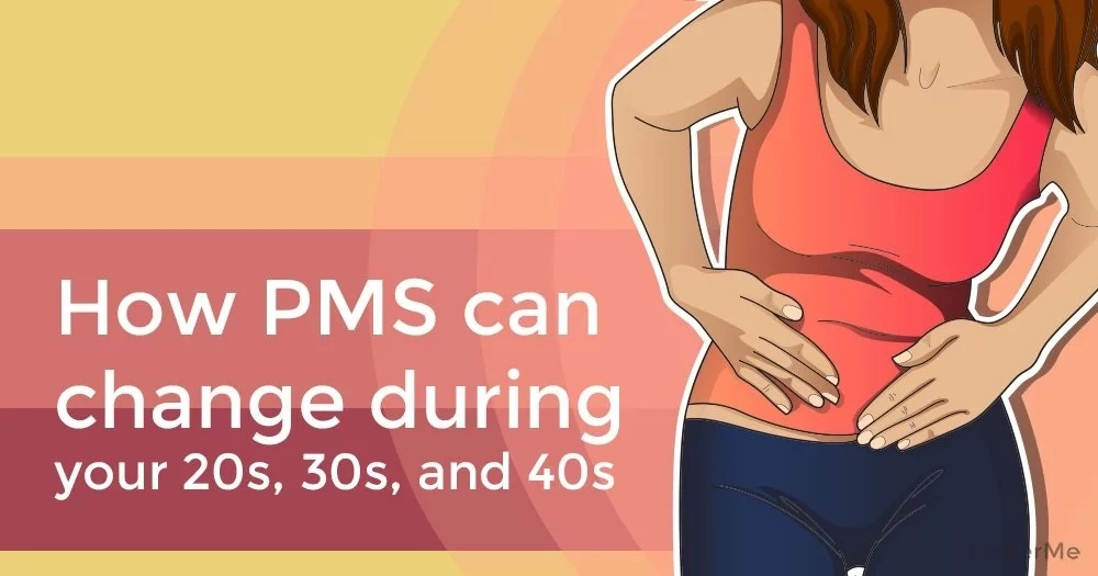 How PMS can change during your 20s, 30s, and 40s