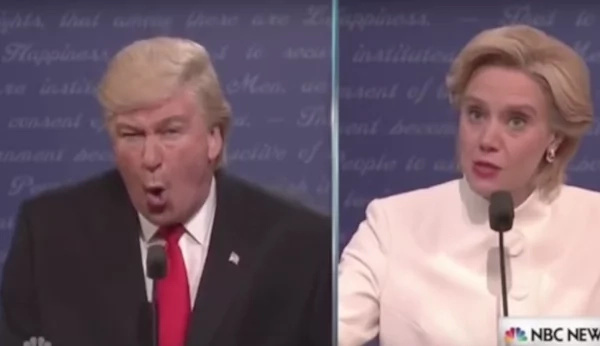 Tom Hanks and Alec Baldwin Just Destroyed Trump In The New SNL Debate Sketch