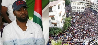 Massive crowds that prove Hassan Joho is still the darling of many Mombasa residents