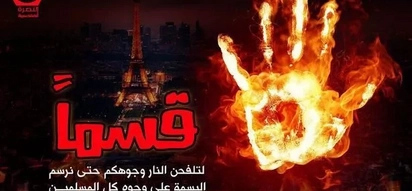 SCARY! ISIS releases poster celebrating Nice attack
