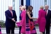Polish First Lady ignores Donald Trump, greets Melania instead (photos, video)