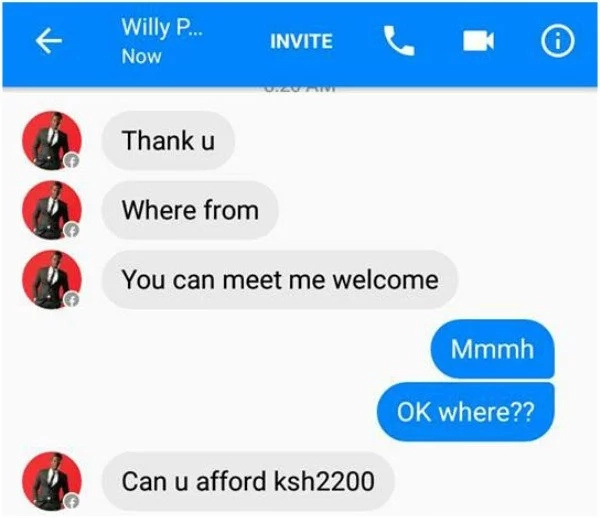 Willy Paul is nice but full of pride – fan exposes gospel singer with some damaging screenshots
