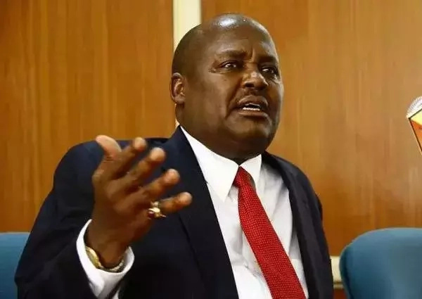 Jubilee MP Asman Kamama retires from politics after losing his seat. Photo: Nation
