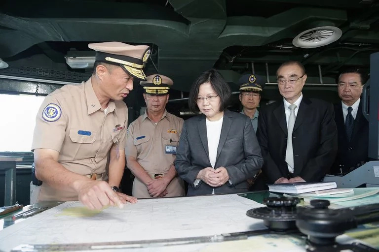 Taiwan sends warship vessel to South China Sea