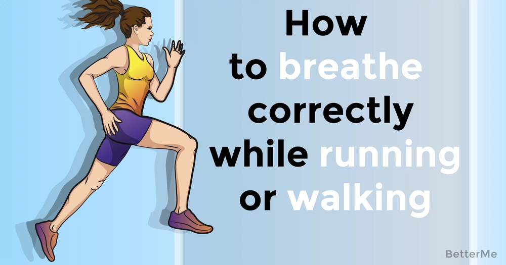 How to breathe correctly while running or walking