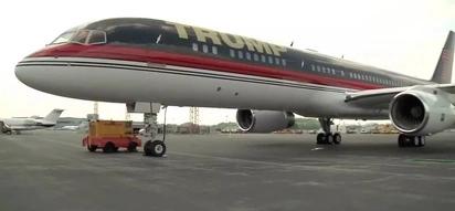 Ndani ya ndege ya Donald Trump, VIP 757